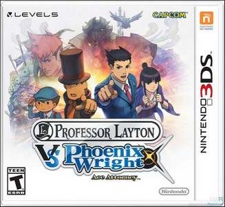 Rom Professor Layton vs Phoenix Wright Ace Attorney 3DS