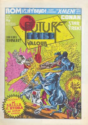 Future Tense and Valour #30, the Micronauts