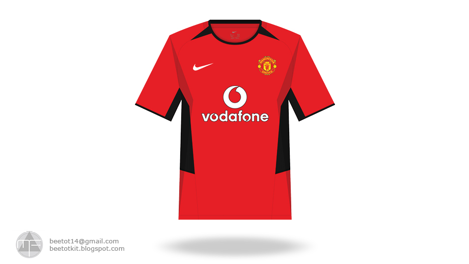 competitive price d45bf eae1b Beetot Kit: Manchester United Nike Kit (2002-2015)