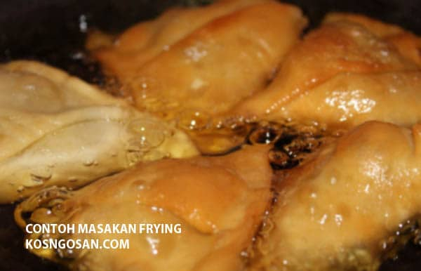 contoh masakan frying