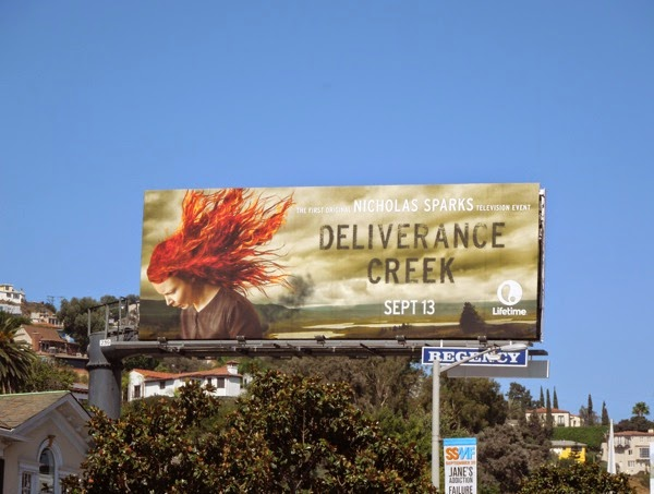 Deliverance Creek billboard Sunset Strip