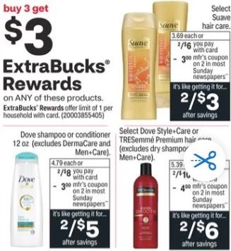 Try Out this Dove Shampoo Coupon CVS Deal