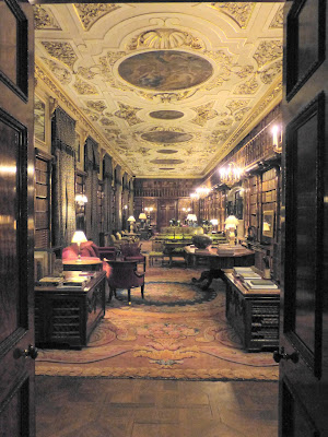 The Library, Chatsworth © A Knowles (2014)