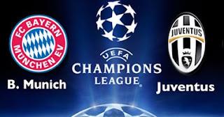 شاهد مباراة بايرن ميونيخ ويوفنتوس بث مباشر دور الـ 16 من بطولة دورى ابطال اوروبا مباراة العودة