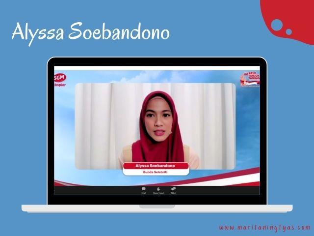 Alyssa Soebandono dalam #AyoTunjukTangan