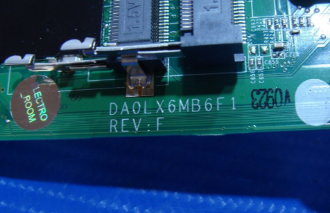 DA0LX6MB6F1 REV F HP DV6 Laptop Bios