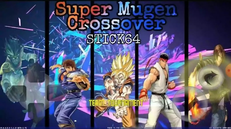 Anime Mugen Apk Super Crossover with Dragon Ball Super and Marvel Venom character Download