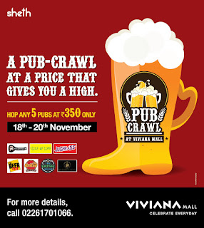 Most awaited Pub Crawl season 2 back at Viviana Mall