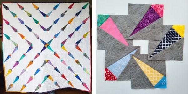 Paper piecing with freezer paper workshop | DevotedQuilter.com
