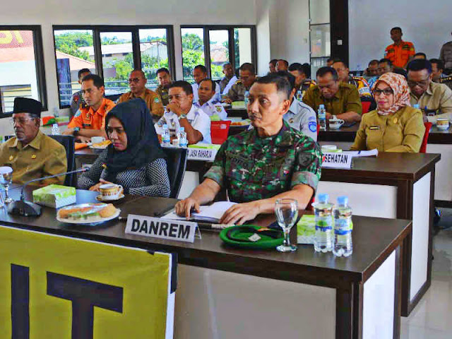 Endro Satoto Hadiri Video Confrence Pengamanan Idul Fitri di Mapolda Malut