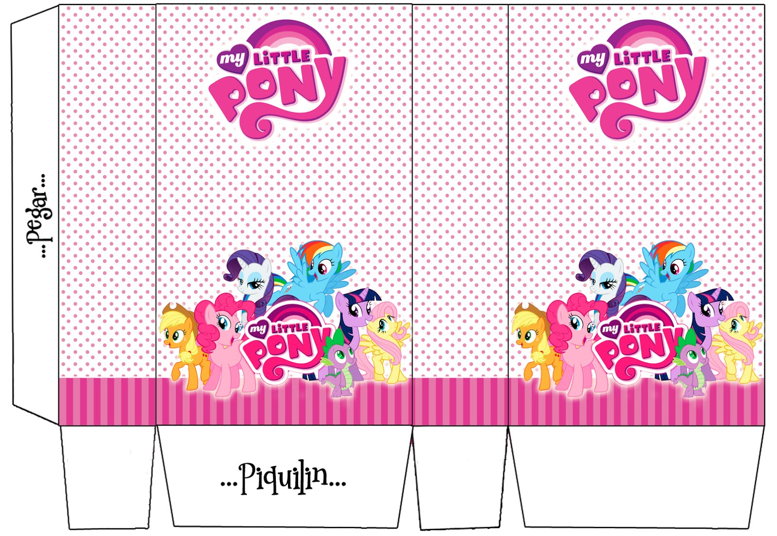 My little Pony Ideas y kit imprimible gratis !!! Imperdible ...