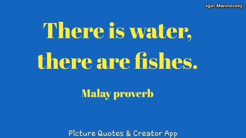 Malay proverb