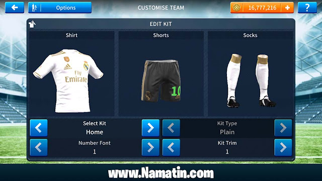 Url Link Baju Dream League Soccer Real Madrid 2019