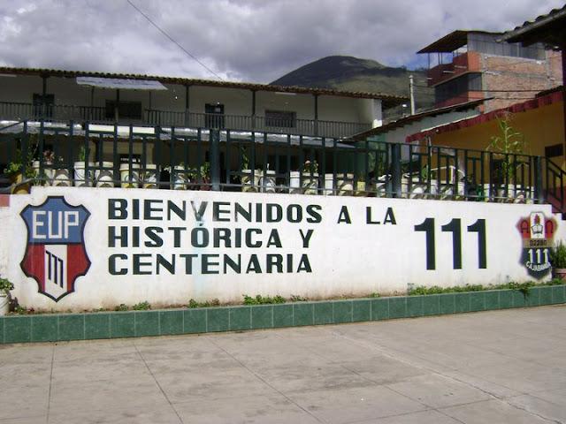 Resultado de imagen para escuela 111 cajabamba