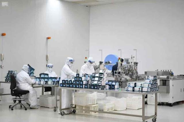 9 Factories produces about 2.5 Million Face Masks daily in Saudi Arabia - Saudi-Expatriates.com