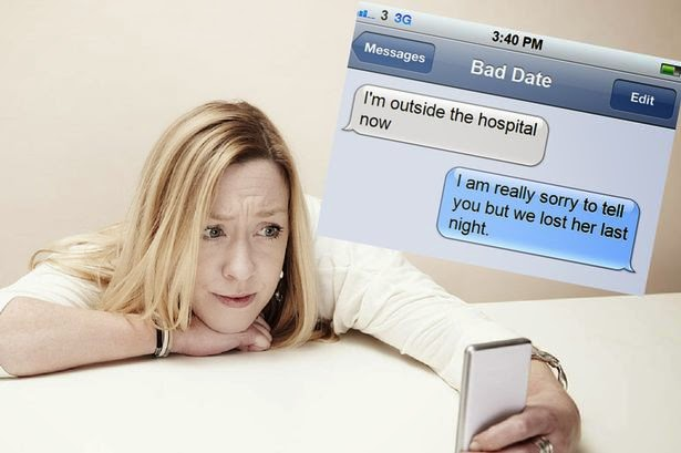 Ann Gray, bad date, fake death