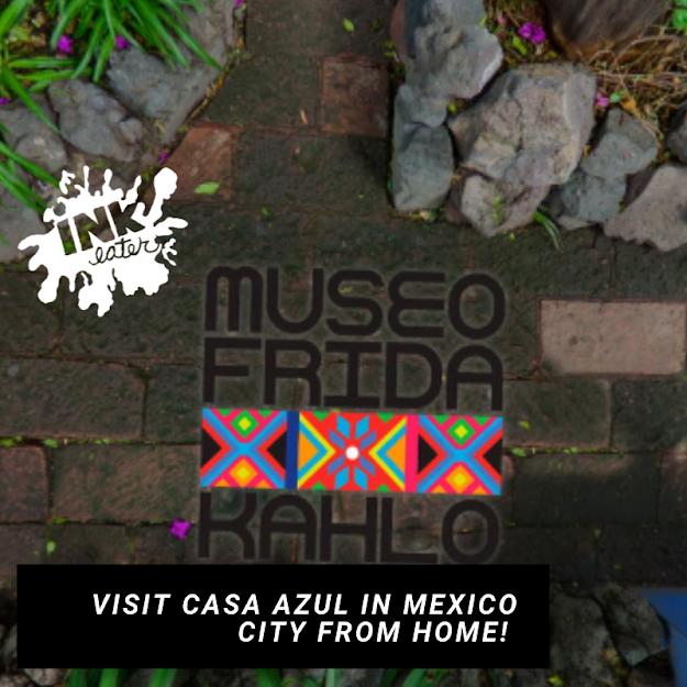 Visit Casa Azul aka The Frida Kahlo Museum in Mexico City Virtually!