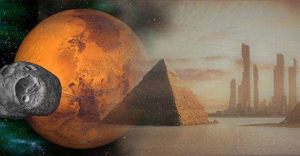 CIA tiết lộ các tài liệu về kim tự tháp và nền văn minh trên sao Hỏa