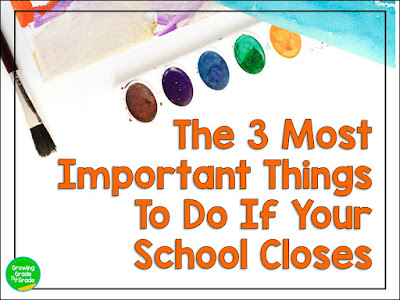The 3 Most Important Things To Do If Your School Closes