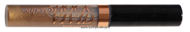 Avon - SuperShock Vivid Liquid Eye Shadow. L'ombretto liquido nella colorazione 24K Gold.