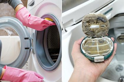 Cara Tepat Membersihkan Mesin Cuci Agar Awet Tahunan. Cegah Jamur dan Bau Apek pada Pakaian
