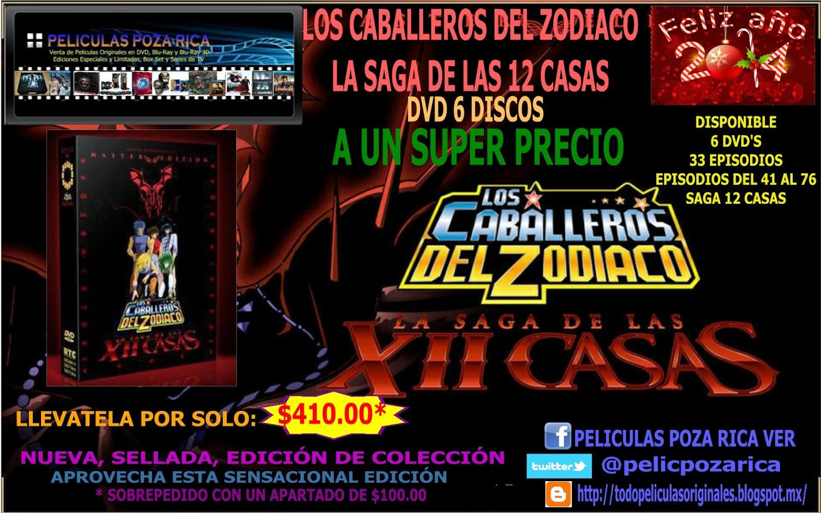 Peliculas originales en blu ray 3d blu ray y dvd los - Casas del zodiaco ...