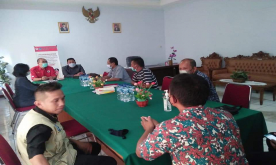 Aang Wardiman Pimpin Diskominfo Bolmut Kunsultasi ke KPID Sulawesi Utara.lelemuku.com.jpg