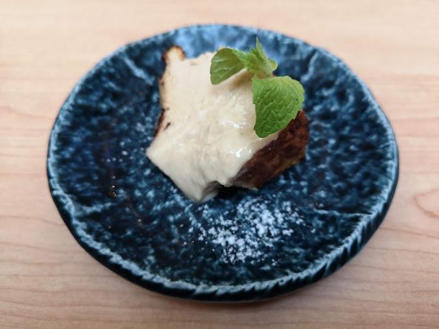 Kokuto black sugar cheese cake