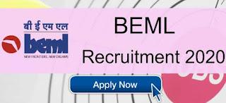 BEML Sarkari Naukri 2020 Recruitment For Chairman & Managing Director Posts | Sarkari Jobs Adda