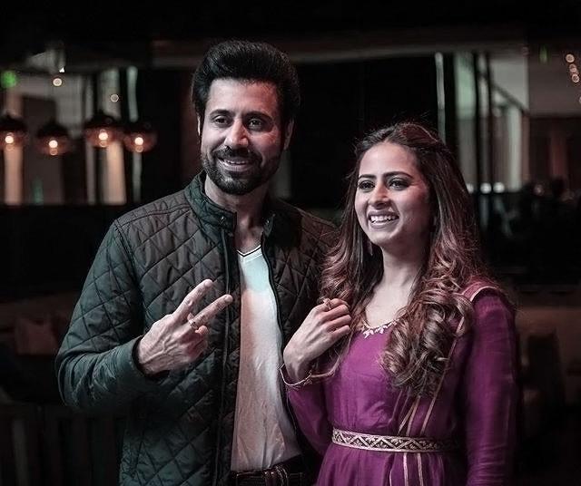 Binnu Dhillon and Sargun Mehta
