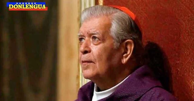 ESTÁ MUY GRAVE | Cardenal Urosa Savino entra de nuevo e Terapia Intensiva
