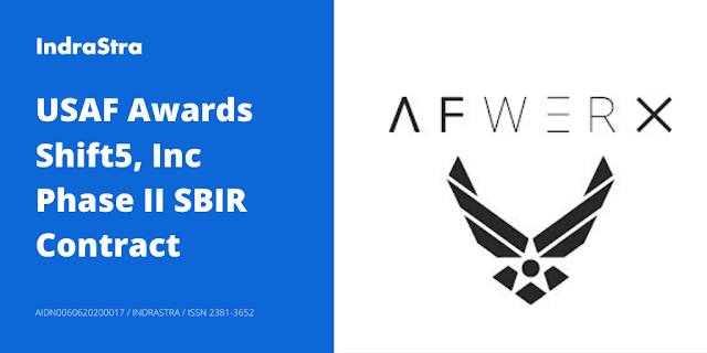 USAF Awards Shift5, Inc Phase II SBIR Contract