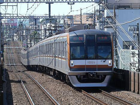 【17000導入ダイヤ改正でどうなる】東京メトロ10000系のF特急 小手指行き