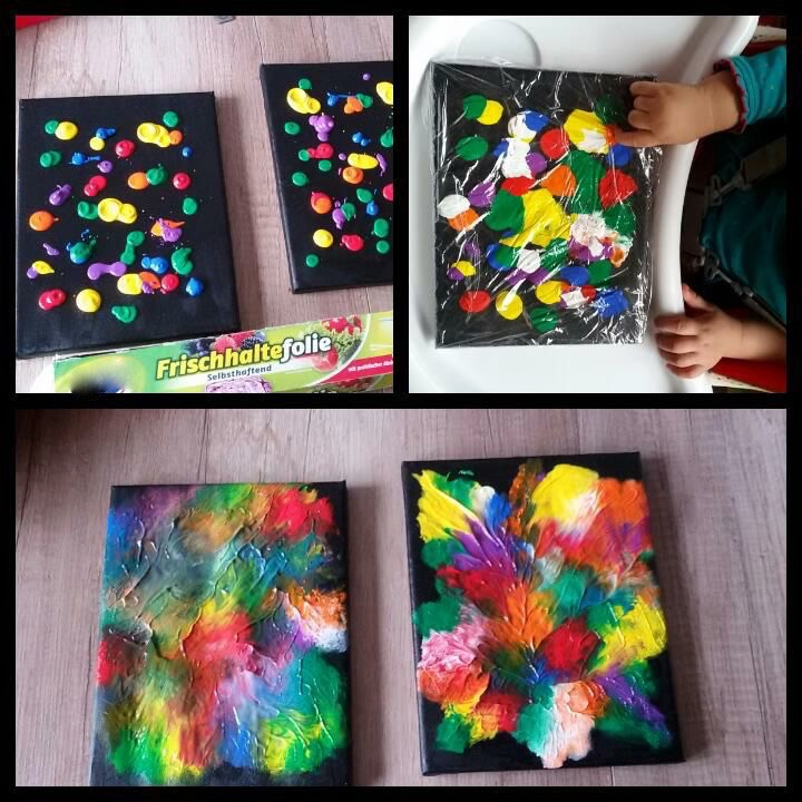 Kita ideenkiste nicht nur f r erzieherinnen - Fingerfarben ideen ...