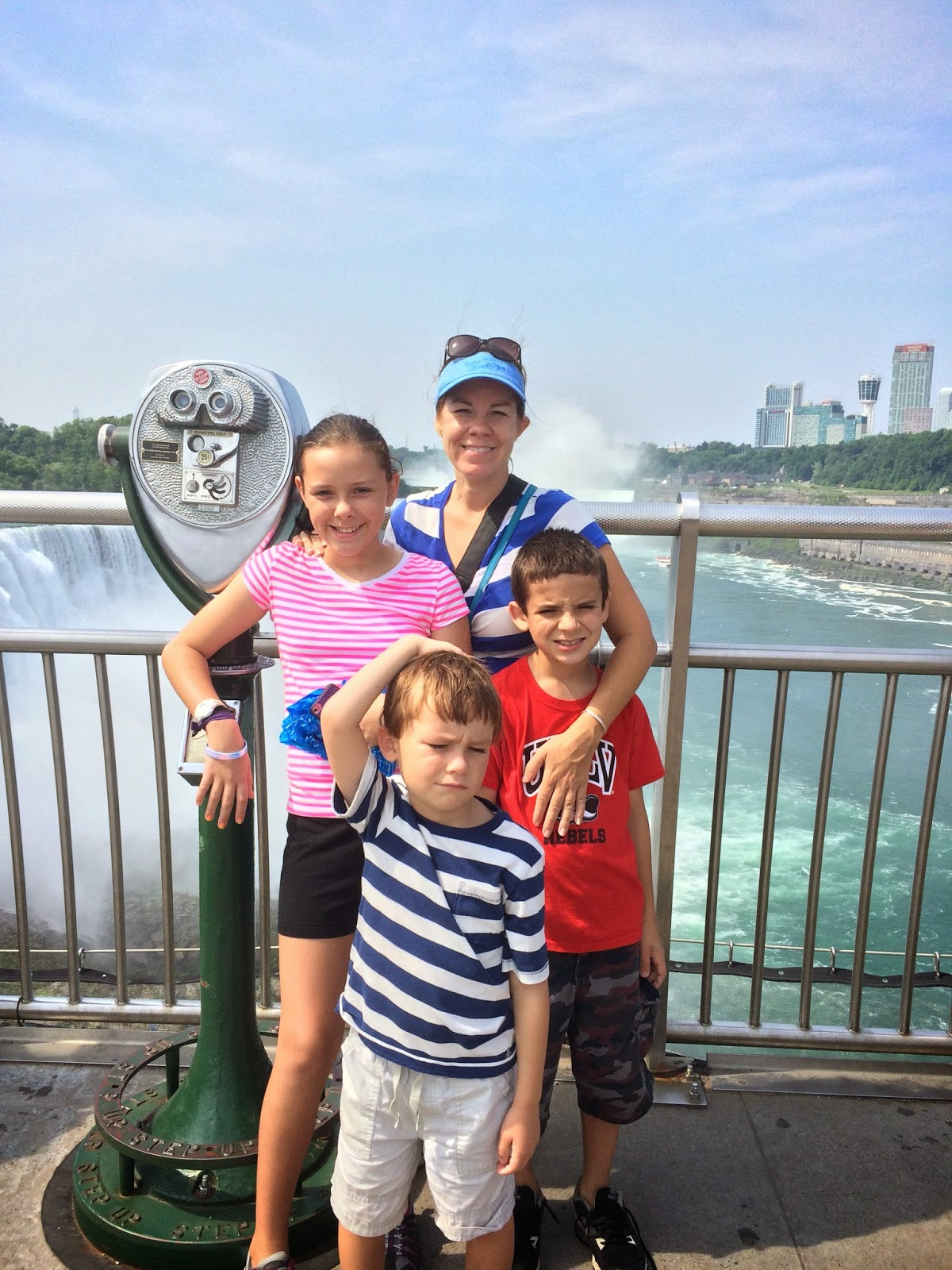 Carful Of Kids Niagara Falls State Park And The Maid Of The Mist