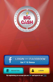 BigCash App Offer– Get Free 15 Rs Free PayTM Cash Per Refer