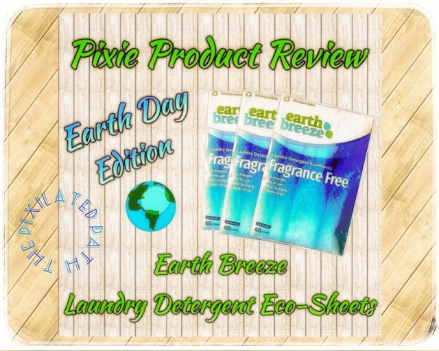 Pixie Product Review - Earth Day Edition: Earth Breeze Laundry Detergent Eco-Sheets