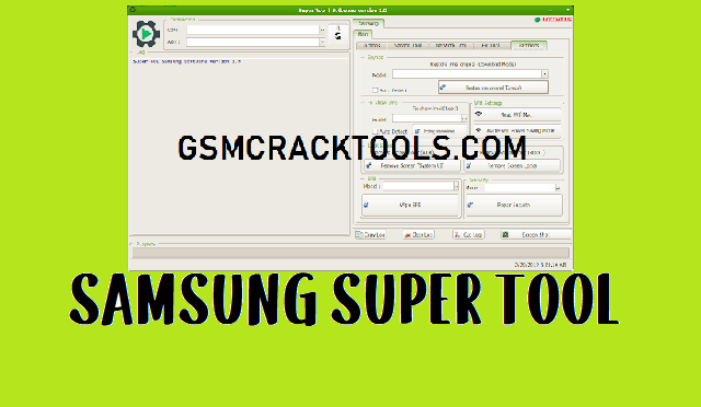 Samsung Super tool to remove all Samsung FRP Lock devices