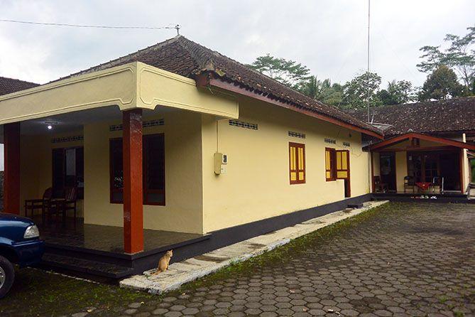 Salah satu homestay di Desa Wisata Candirejo, Borobudur