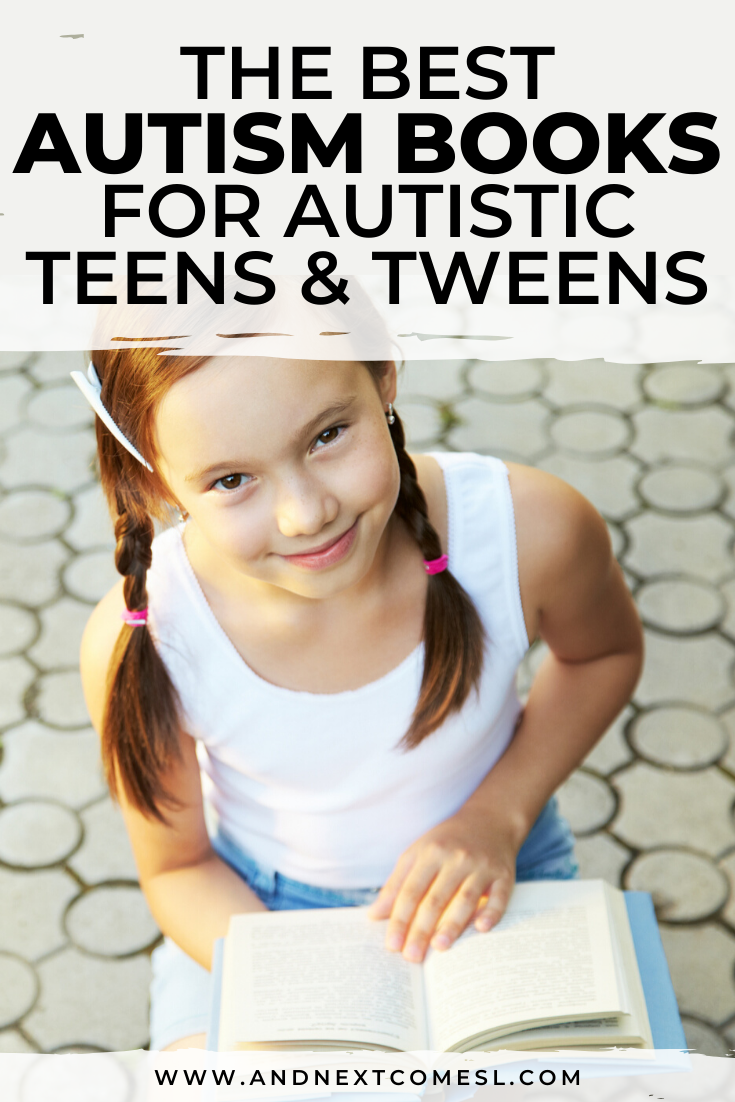 Looking for autism books for your autistic teens or tweens? Then you'll love this list of books about autism that are written by actually autistic #ownvoices authors