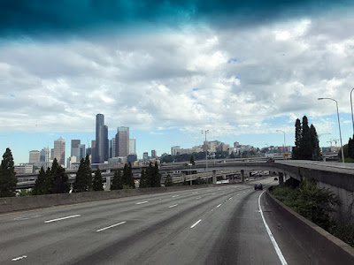 Driving Through Seattle
