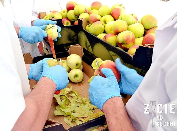 jablka, szarlotka, rekord guinnessa, obierki z jabłek, obieranie jabłek, mszczawnica, małopolska, życie od kuchni