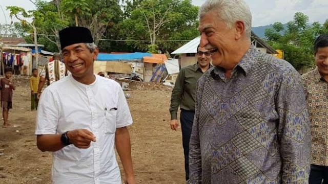 Dubes Azerbaijian Solidaritas Bangun Masjid di Lombok