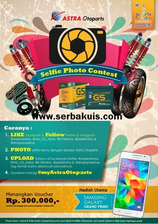 Astra Otoparts Selfie Photo Contest