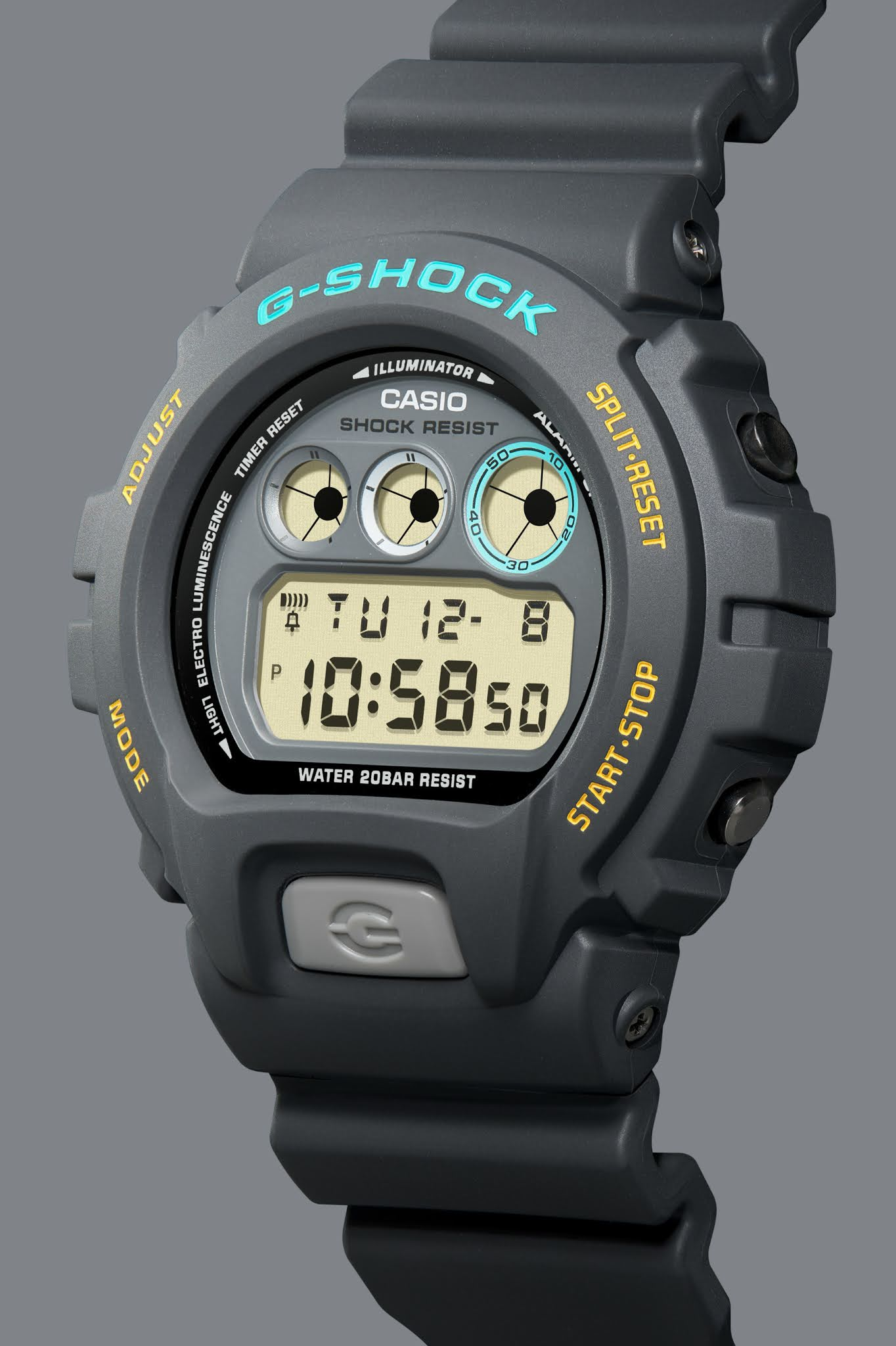 Introducing: The Casio G-SHOCK Ref 6900 by John Mayer