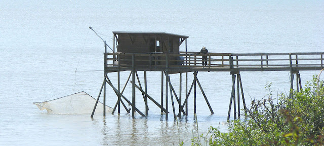 Fishing hut, Charente-Maritime, France. Photo by Loire Valley Time Travel.