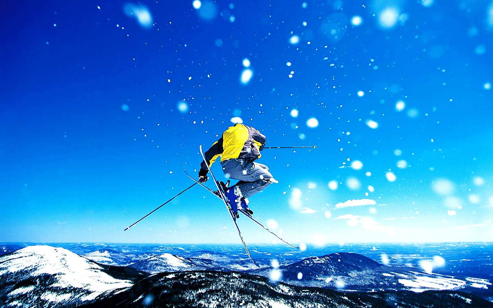 Skiing Winter Sports HD Wallpapers | Desktop Wallpapers