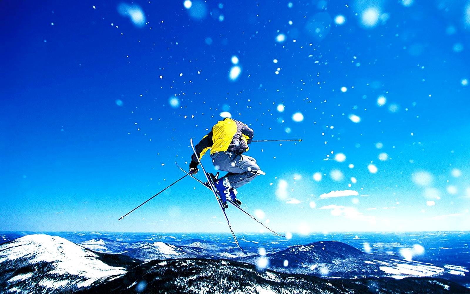 Skiing Winter Sports HD Wallpapers | Desktop Wallpapers