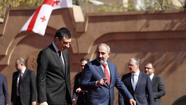 Primer ministro de Georgia visita Armenia
