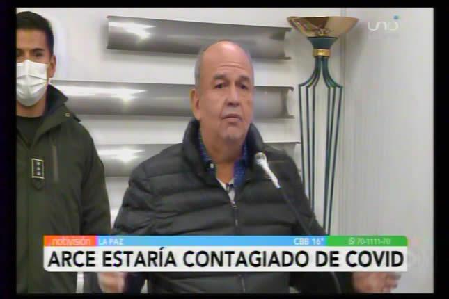 Murillo asegura que Luis Arce está contagiado con Covid-19; pide no incitar a movilizaciones